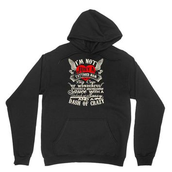i'm not just a tattooed mom i,m a big cup Unisex Hoodie