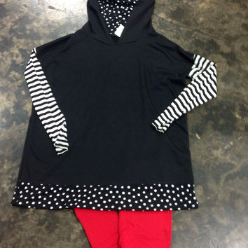 Polka Dot & Stripes - Small