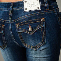 Cello Dark blue bootcut jeans