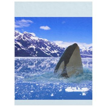 Gorgeous View of of the Sea Fleece Blanket