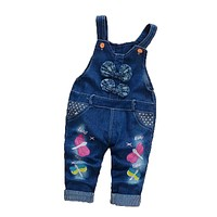 Bibicola Infant Baby Boys&Girls Spring Jeans Denim Pants Newborn Baby Soft Harem Pants Girl Cool Jeans Toddler Kid Clothes