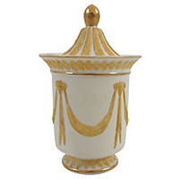 Jasperware Urn w/ Classical Design