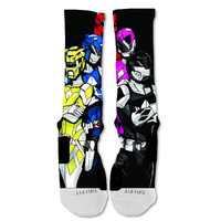 Nike Elite Socks Custom Power Rangers... 1-2 day Shipping