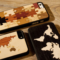 Real Wood Cases for iPhone at Firebox.com