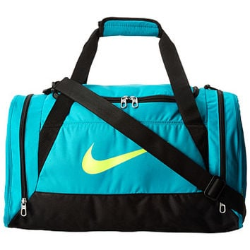 Nike Brasilia 6 Small Duffel Turbo Green/Black/Volt - Zappos.com Free Shipping BOTH Ways