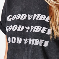 John Galt Good Vibes Boyfriend T-Shirt at PacSun.com