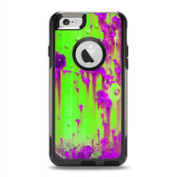 The Lime Green Metal with Hot Purple Rust OtterBox Commuter Case Skin Set (Other Models Available!)