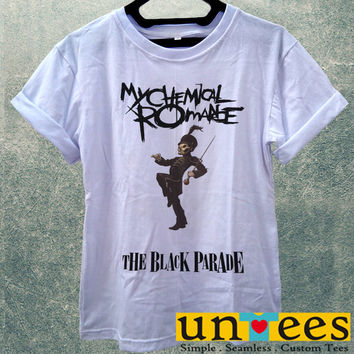 Low Price Women's Adult T-Shirt - My Chemical Romance The Black Parade design