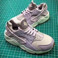 Nike Air Huarache Purple Women Sport Running Shoes - Best Online Sale