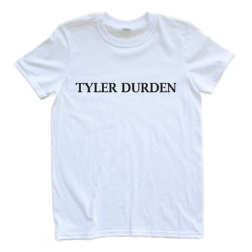 Adult Unisex T Shirt Tyler Durden Fight Club Small through XL