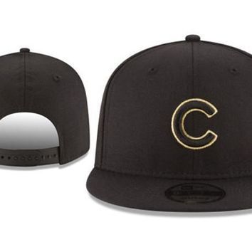 New Arrival New Era Black Cap MLB Baseball Fitted Hat-20