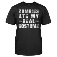 Zombies Ate My Real Costume