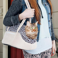 PAW Cozy Cat Travel Pet Carrier