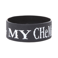 My Chemical Romance Rubber Bracelet
