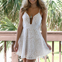 Moon Child White Lace Dress