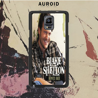 Blake Shelton American Country Singer Samsung Galaxy Note 3 Case Auroid