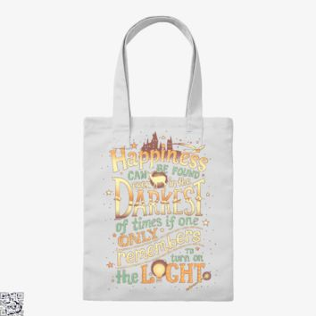 Happiness, Harry Potter Tote Bag