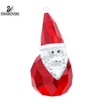 Swarovski Christmas Figurine Color Crystal SANTA CLAUS #5268817