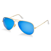 Cool Blue Ray-Ban Aviator