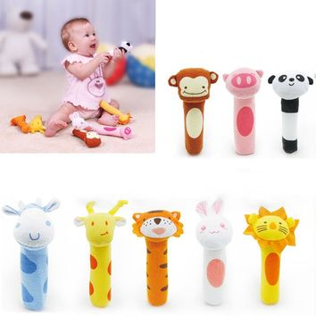 Baby Bell - Animal Shaped - Hand Bell Ring Rattles