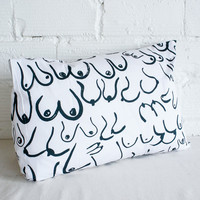 Boob Pillowcase by Gravel and Gold