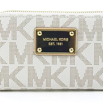 MICHAEL Michael Kors Multifunction Logo Phone Case Wristlet