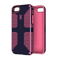 Speck Products CandyShell Grip Case for iPhone 5c  - Berry Black Purple/Bubblegum Pink