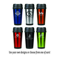 Personalized Stainless Steel Coffee Travel Mug