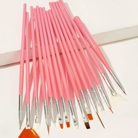 Nail Art Brush Set 15pack