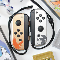 Nintendo Switch - Pokemon Gold And Silver - Lugia / Ho-oh Legendary - Custom Joy-Cons - Pokken Tournament DX - Limited Run