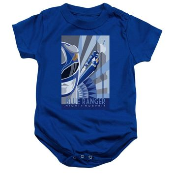 Power Rangers - Blue Ranger Deco Infant Snapsuit