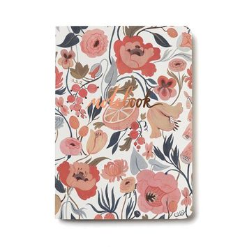 RED CAP CARDS CITRUS PEACH NOTEBOOK