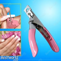 Acrylic UV Gel False Nails Tips Manicure Cutter Clipper