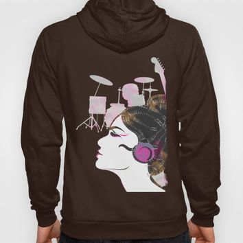 Music Overdose Hoody by Famenxt | Society6