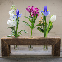Triple Floating Flower Stand