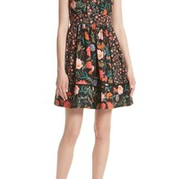 kate spade new york blossom sleeveless fit & flare dress | Nordstrom