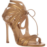 Snakeskin Ada Strappy Sandals
