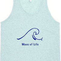 Wave of Life Shirt Tank Top Tee Summer Beach Style Fashion Boho Chic You Choose Color by Wave of Life™