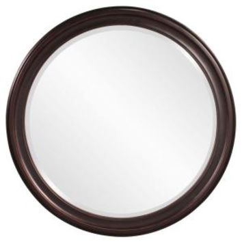 36 in. x 36 in. x 1 in. Oil Rubbed Vanity Framed Mirror, 53044 at The Home Depot - Mobile