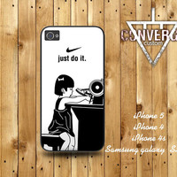 Nike  Just do it - stitch  Handmade Case for Iphone 4/4s,Iphone5 Case,Samsung Galaxy s2,s3