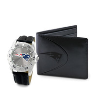 New England Patriots NFL Men's Watch & Wallet Set