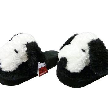 Snoopy Plush Slippers | Peanuts & Snoopy Apparel |  Shop Knott's Berry Farm Online