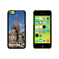 Kremlin St Basil's Cathedral Moscow Russia Red Square Case for Apple iPhone 5C