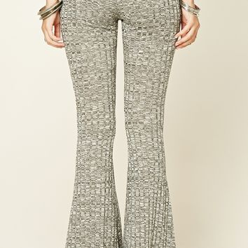 Marled Flared Pants