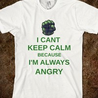 im always angry