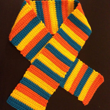 Bright and Stripes Children's Statement Scarf