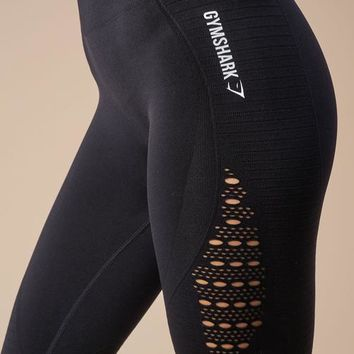 Gymshark Seamless Energy High Waisted Leggings - Black