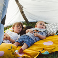 Sunshine blanket, kids play mat, rug