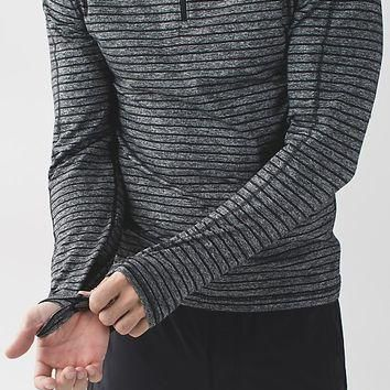 surge warm 1/2 zip | men's long sleeve tops | lululemon athletica