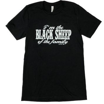 LHTX Black Sheep Black & White T-Shirt
